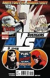 Avengers versus X-Men #4 of 6 / Rare 1:20 Variant Cover (AVX / Versus Series) (2012) Thor vs Emma Frost