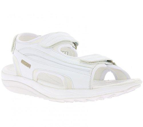 WalkMaxx Sandale 2.0 Schuhe Herren Fitness-Sandalen Gesundheitsschuhe Weiß Gr 44