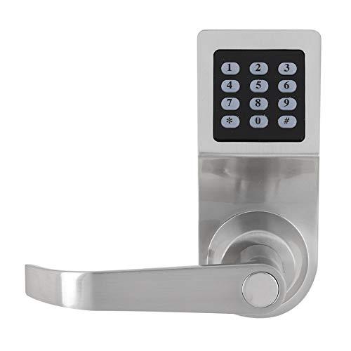 Elektronisches Türschloss, 4-in-1Digitales Code-Sperre Codeschloss Zutrittskontrolle mit Passwort, RF-Karte und mechanischer Schlüssel Sicherheitsschloss für Zuhause und Büro, 160 x 68 x 36 mm