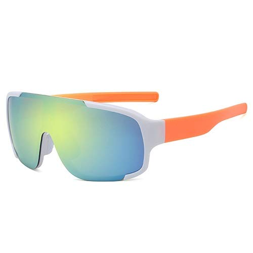 NSGJUYT Ciclismo Deportes Gafas polarizadas Gafas de Sol UV400 de la Bici del Camino Correr Montar Bicicleta MTB Gafas