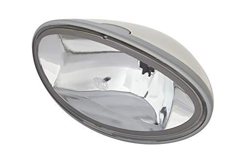 HELLA 1FB 007 892-011 FF/Halogène-Projecteur longue portée - Comet FF 300 - 12V - ovale - Chiffre de référence: 17.5 - Montage en saillie - disperseur limpide - Couleur du voyant: transparent - gauche
