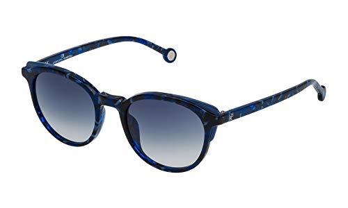 Carolina Herrera SHE7425006DQ - Gafas de Sol para Mujer, Azul, 50