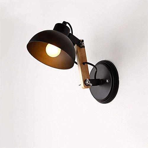 Lámparas De Pared Lámparas De Pared Nórdicas Macaron Soporte De Lámpara Edison Luces De Pasillo Lámpara De Pasillo Luz De Lectura De Cabecera (Color: Blanco)