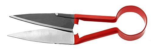 Cisaille à buis confort Berger 27310 à ressort rond, modèle incliné, longueur de lames : 14 cm