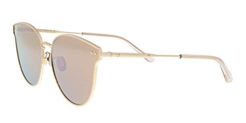 Bottega Veneta Gafas de Sol BV0157SK ROSE GOLD/ROSE GOLD 63/0/0 mujer