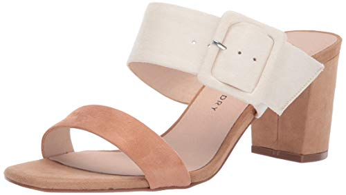 Chinese Laundry Women's Yippy Heeled Sandal, Cream Multi Suede, 7 M US
