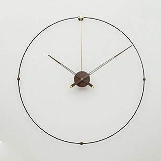 703fbab21 GZGJ De Gran Tamaño Gran Metal Reloj De Pared Diseño Moderno Simple Arte De  Hierro 3D