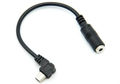 PROtastic 3.5mm microfoon kabel microfoonadapter voor GoPro Hero 3 & Hero 3+ Plus camera