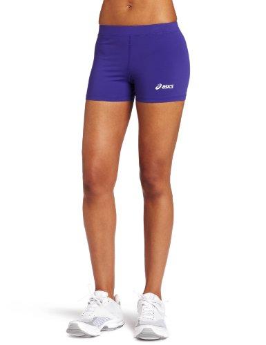 Asics– Pantalones de corte bajo para mujer - BT752, Púrpura