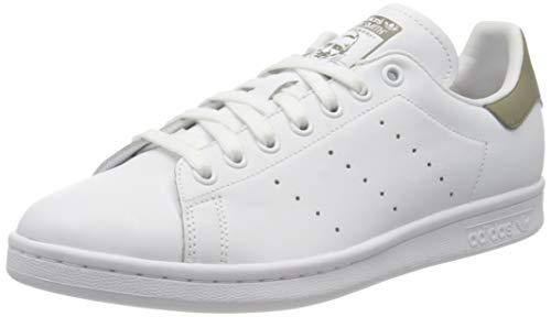 adidas Stan Smith, Scarpe Uomo, Bianco Cloud White Trace Cargo Clod White, 44 EU