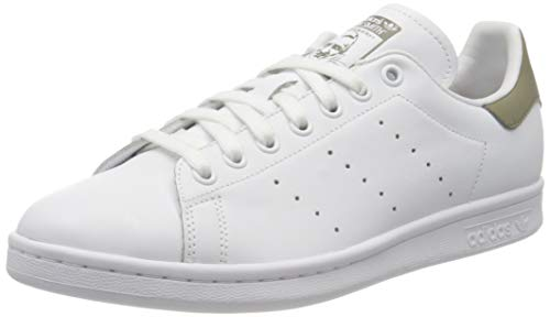 adidas Mens Stan Smith Sneaker, Cloud White/Trace Cargo/Cloud White, 44 2/3 EU