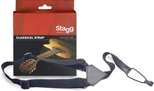 Stagg SNCL001-BK Classic Nylon Gitarrengurt