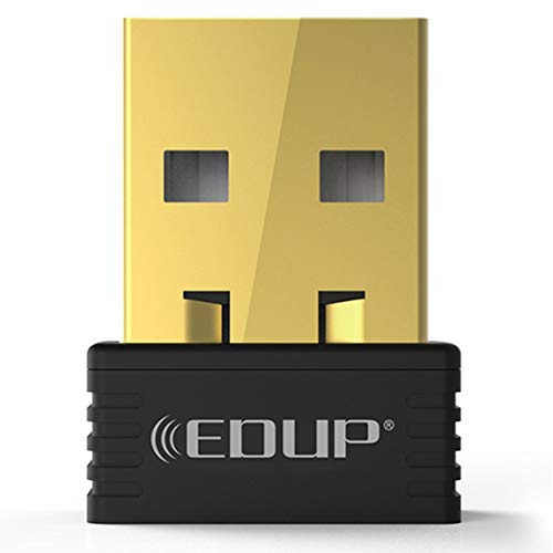 Pumprout EDUP 150Mbps Mini USB WiFi Dongle Receptor Inalámbrico 802.11 n/g/b Adaptador Ethernet Tarjeta de Red para Windows para Mac PC