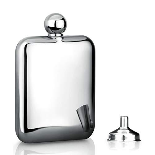 Heupfles voor drank 4/6 Ounce voor mannen en vrouwen, geweldig cadeau-idee fles met trechter, fijne Whiskey Lovers bekers, 2020NEW