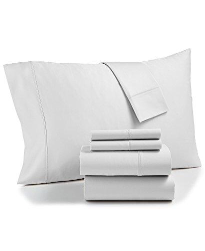 AQ Textiles Bradford StayFit Extra Deep Pocket 800 TC 6-Pc. King Sheet White