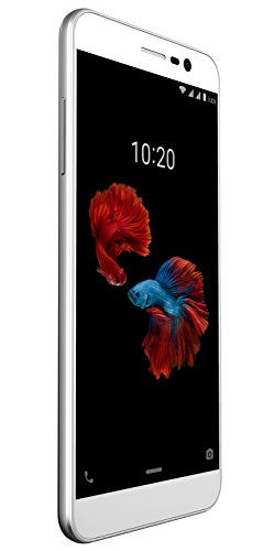 ZTE Blade A910 Smartphone (13,97 cm (5,5 Zoll) Display, 16 GB Speicher, Android 6.0) Silber