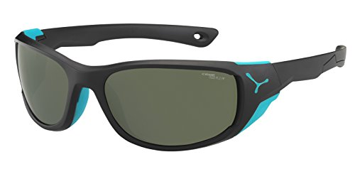 Cébé Jorasses Gafas, Unisex Adulto, Multicolor (Matt Black Turquoise), M