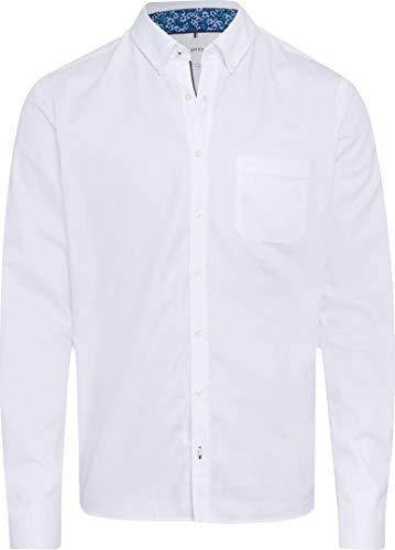 BRAX Herren Style Daniel Hemd, White, L