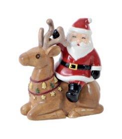 Hervit Natale Box Set Sale/Pepe Porcellana 9 CM Renna