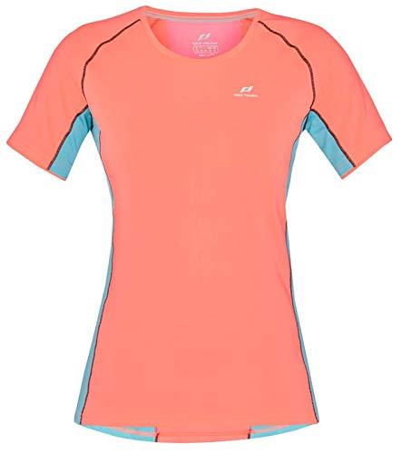 PRO TOUCH T- Shirt Gaisa, Neon Peach/Turquois, 42 Womens