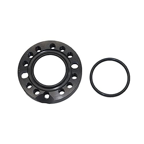 Ajustador de aluminio de 28 mm Ajustador de carburetor de entrada del carburador Manifold Spinner Spinner Adaptador para la suciedad de Pit Bikes Buggy Accesorios de la motocicleta ( Color : Black )