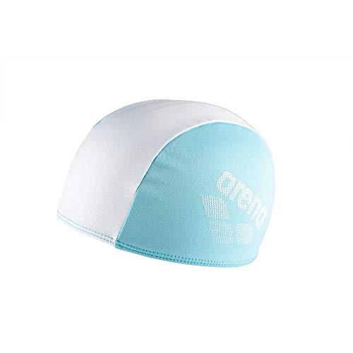 ARENA Unisex Jugend Kinder Badekappe Polyester II, Light Blue, one Size