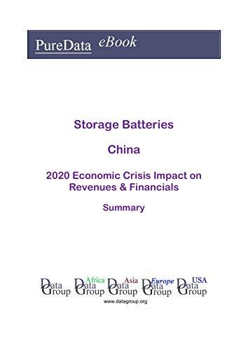 Storage Batteries China Summary: 2020 Economic Crisis Impact on Revenues & Financials (English Edition)