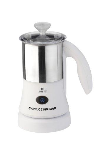 Lentz CAP300W Cappuccino+Cocktail King(Milch 300 ml, Aufschäumen 150 ml)