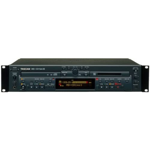 Tascam MD-CD1MK3 Lettore CD e Minidisco MP3