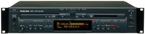 Tascam MDCD1-MKIII Combination Minidisc Recorder/CD Player