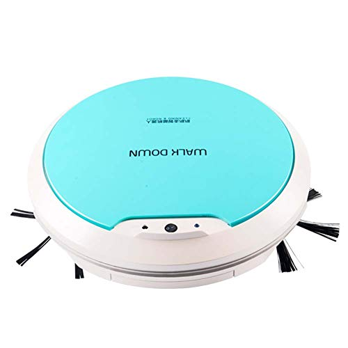 Read About RUIXFRV WirelessRobot Vacuum Cleaner, Thin, Quiet, with Anti-Collision Induction, Pet Hai...