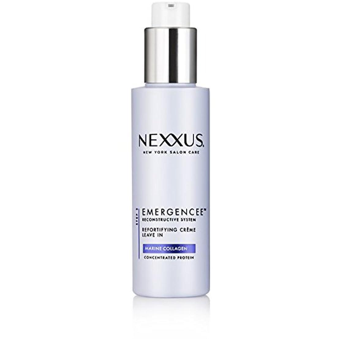 シエスタ積極的に男Nexxus Emergenceeはダメージを受けた髪のためにクリーム状にしておきます、150 ml