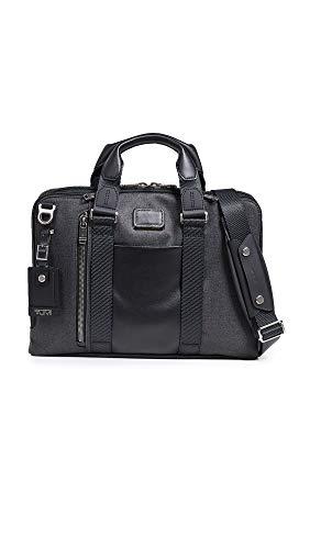 TUMI - Alpha Bravo Aviano Laptop Slim Briefcase - 15 Inch Computer Bag for Men and Women - Graphite