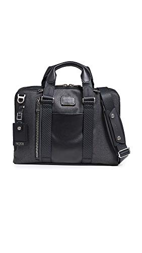 TUMI - Alpha Bravo Aviano Laptop Slim Brief Briefcase - 15 Inch Computer Bag for Men and Women - Graphite