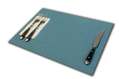 Tovagliette di Carta Azzurro | Confezioni da 500 Fogli | Formato cm 30x40 | Tipo Robusto 120 gr.mq. | Le più Comuni e utilizzate | Monouso, USA e Getta