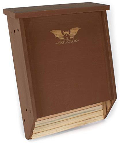 BIGBATBOX -Bat Houses for Outdoors - Proven Bat Box Design, Premium 2-Chamber Cedar Bat House. Enjoy...