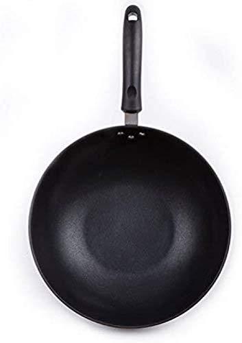 Pan met antiaanbaklaag Duurzame en stevige universele pan Eenvoudig schoon te maken Wok Elektrische barbecue (upgrade)