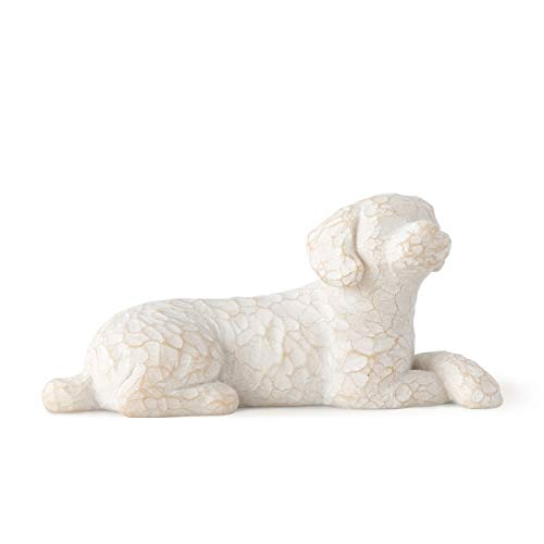 Willow Tree Love My Dog Small Lying Figurine