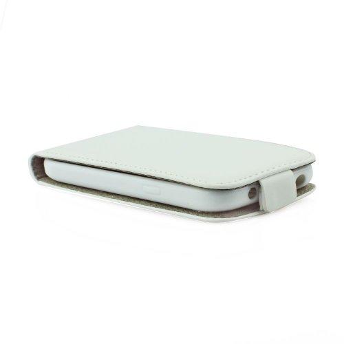 Preisvergleich Produktbild Handytasche Flip Case Weiss für Sony Xperia Z1 Compact Handy Tasche Schutz Hülle Etui