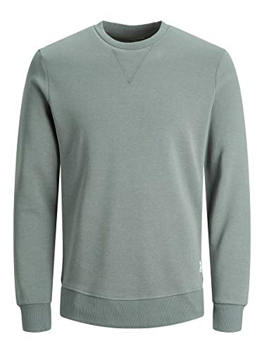 JACK & JONES Męska bluza Basic z okrągłym dekoltem, Sedona Sage/Fit:reg, M