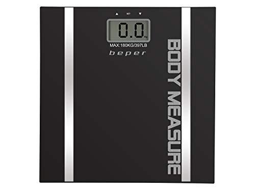 Beper Body Trainer - Báscula de baño con medidor de grasa