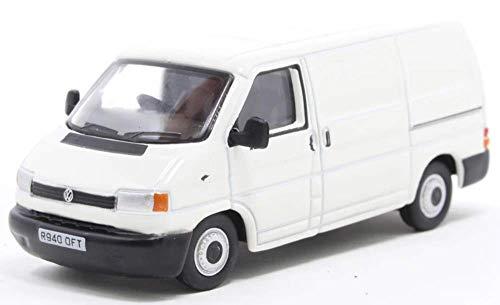 Oxford 76T4002 VW T4 Transporter Kasten Weiss Maßstab 1:76 Modellauto