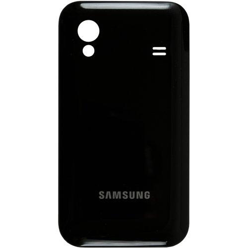 Original Samsung Akkudeckel black-gloss / schwarz-glänzend für Samsung S5830, S5830i, S5839i Galaxy Ace (Akkufachdeckel, Batterieabdeckung, Rückseite, Back-Cover)