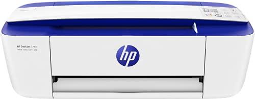 Oferta de HP DeskJet 3760 T8X19B, Impresora Multifunción A4, Imprime, Escanea y Copia, Wi-Fi, USB 2.0, HP Smart App, Incluye 4 Meses del Servicio Instant Ink, Azul