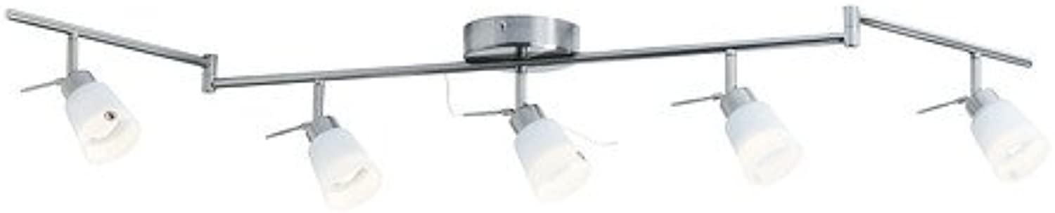 Ikea TIDIG - Ceiling Spotlight with 5 Spots, Nickel-Plated
