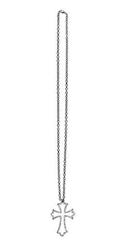Boland 64480 Halskette Brillant Cross, One Size