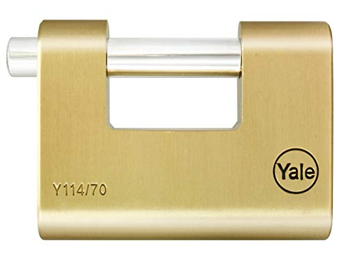 Yale Locks YALY11470 Shutter Vorhängeschloss 70 mm Messing