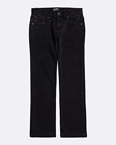 NA PALI SAS, Hossegor - BILLABONG Jungen Slim Fit Jeans Outsider Jean - Slim Fit Jeans für Jungen, Oil Spill, 12, U2PN04