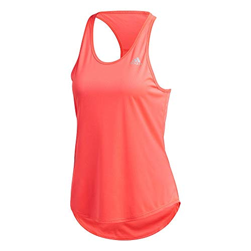 adidas Damen Run It Tank 3-Streifen Bluse, sigpnk, M