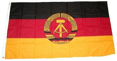 Fahne / Flagge DDR NEU 150 x 250 cm Flaggen